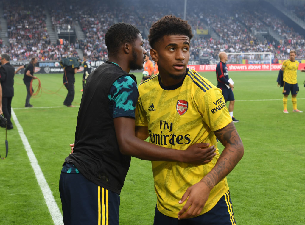 Reiss Nelson is set for a big summer with Arsenal.