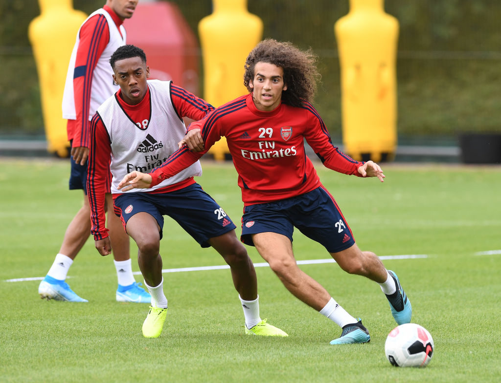 Matteo Guendouzi is likely to leave Arsenal as well this summer.