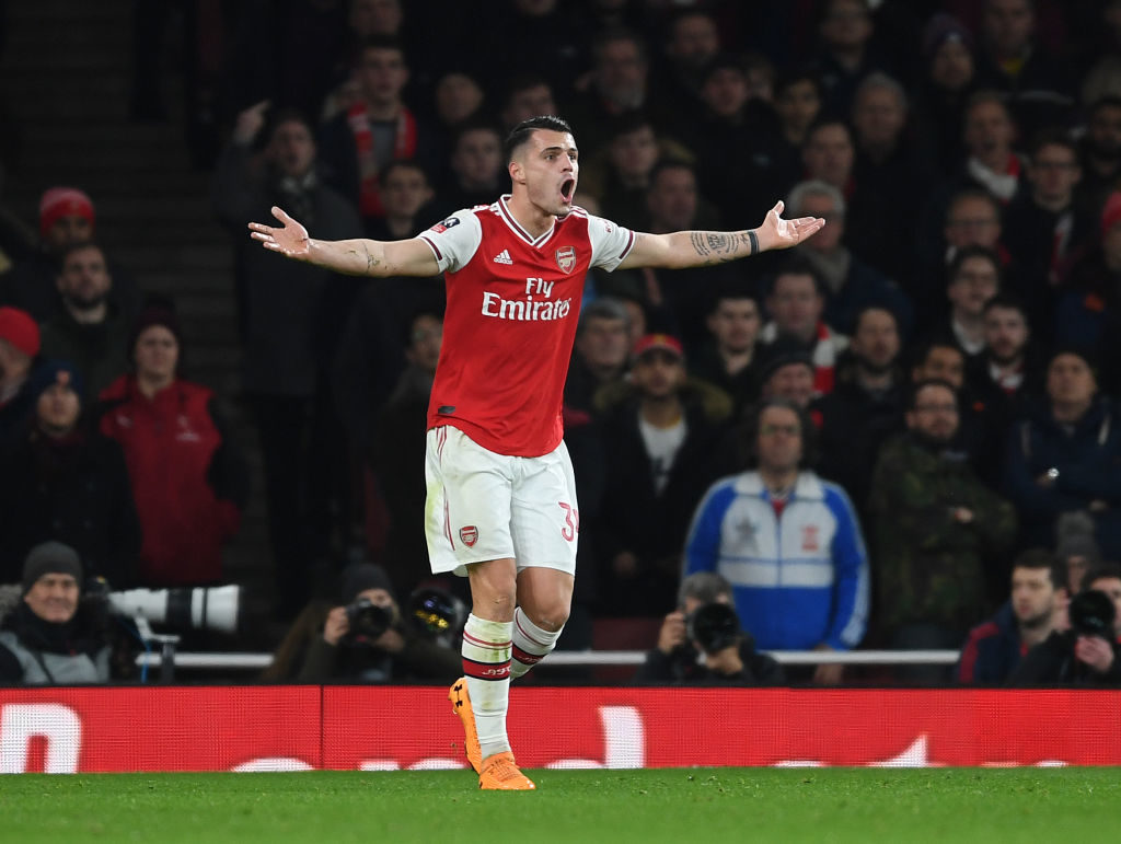 Granit Xhaka does not want to play for Arsenal against Brentford in the first game of the new Premier League season