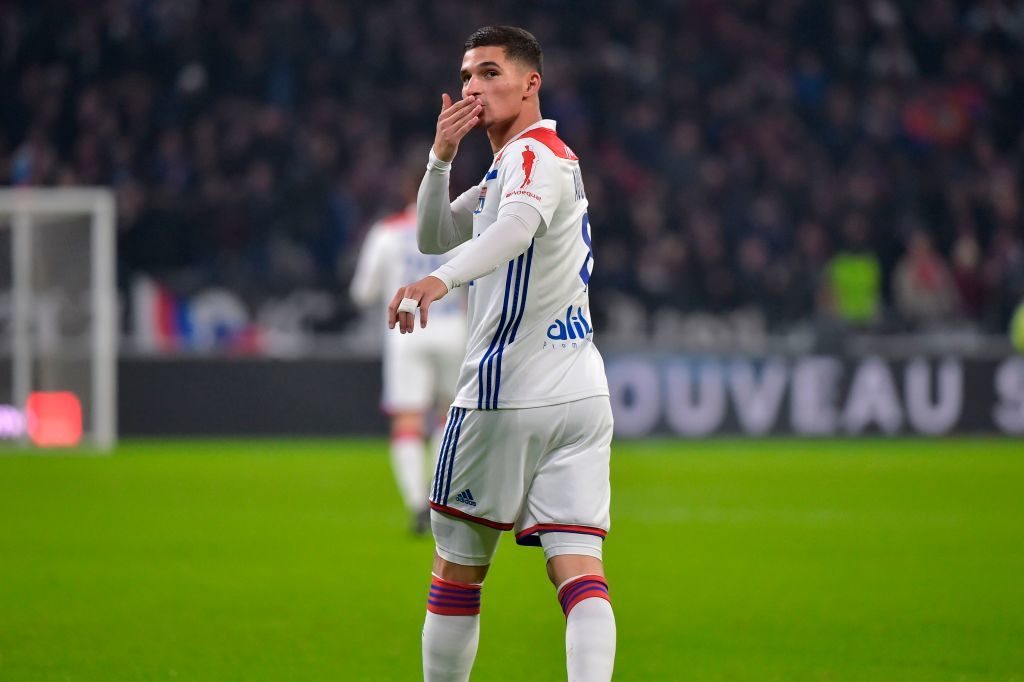 Arsenal have tabled an official bid for Houssem Aouar