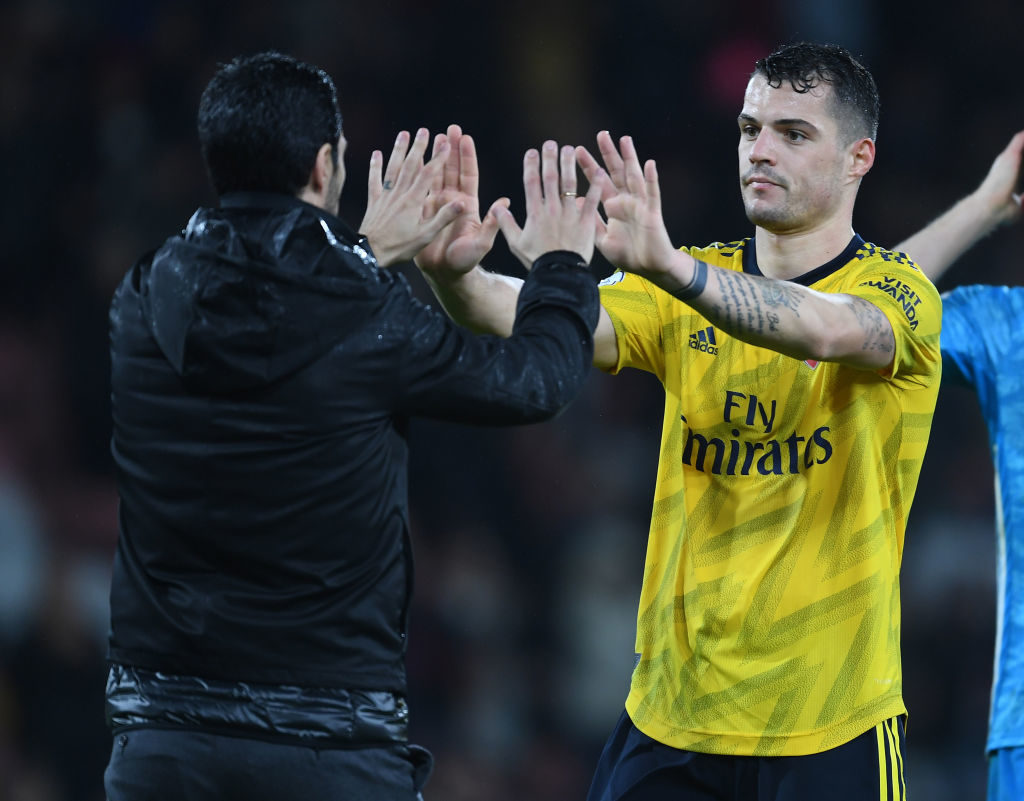 Campbell explains why Xhaka could leave Arsenal in January