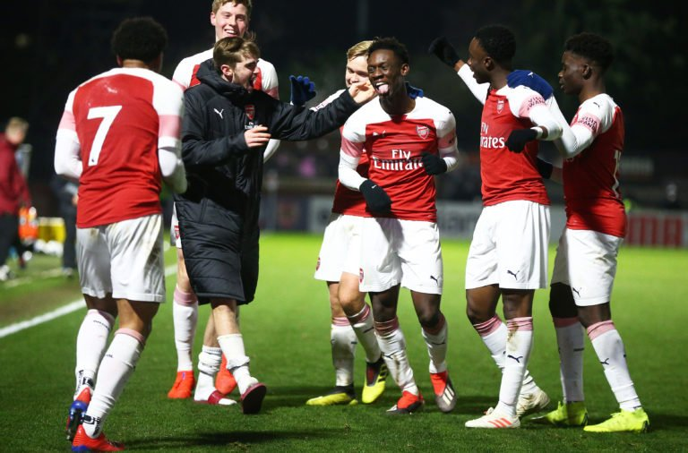 Arsenal v Tottenham Hotspur - FA Youth Cup Fourth Round