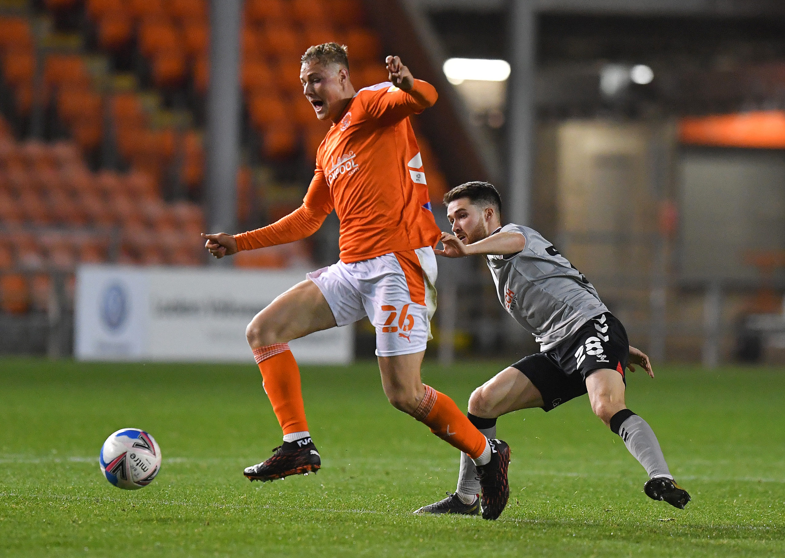 Blackpool v Charlton Athletic - Sky Bet League One
