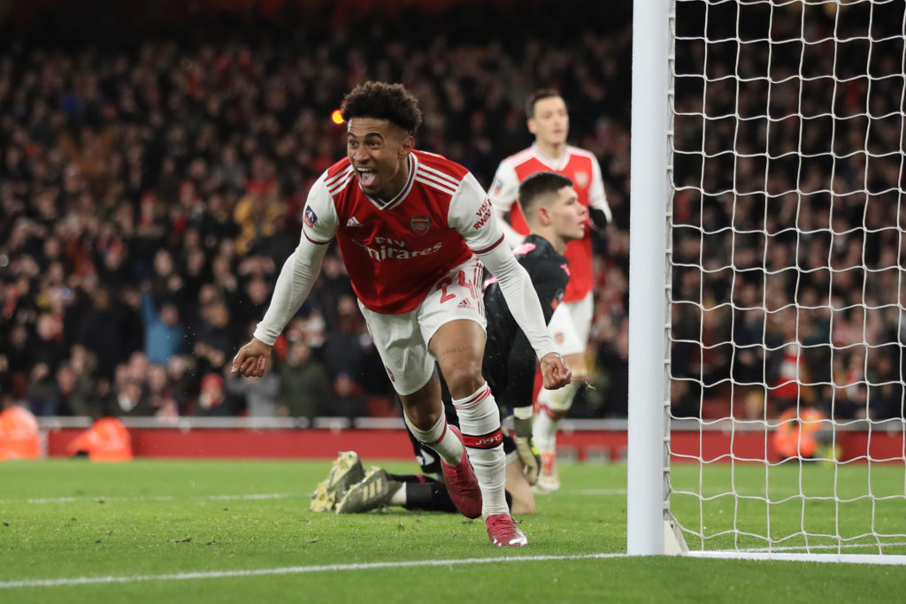 Crystal Palace boss Patrick Vieira wants to sign Arsenal winger Reiss Nelson on loan