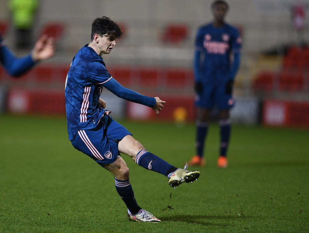 Rotherham U18 v Arsenal 18: FA Youth Cup 3rd Round