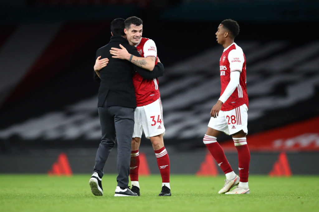 A new contract for Granit Xhaka is Arsenal's priority after signing Ben White, claims Fabrizio Romano