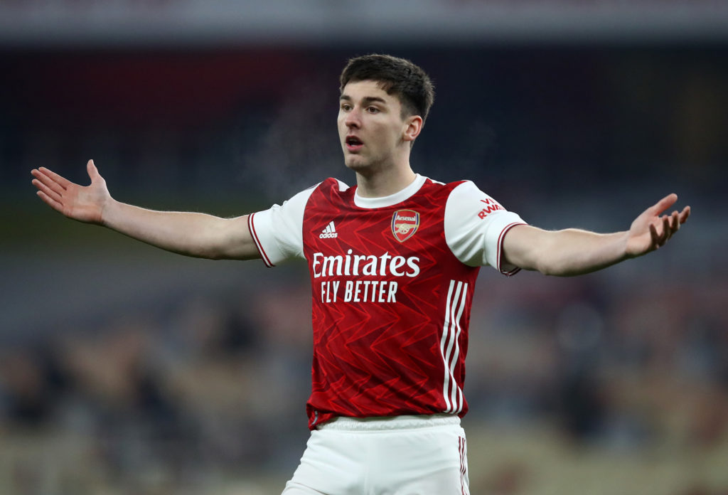 Kieran Tierney signed a new five-year deal with Arsenal last week.