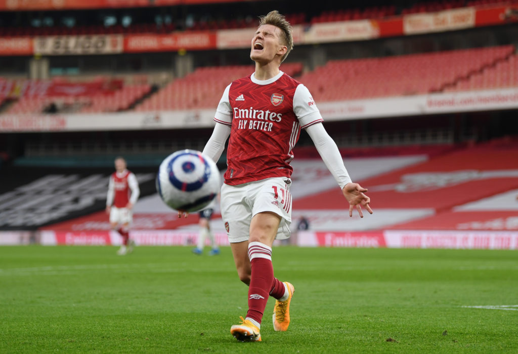 Perry Groves compares Martin Odegaard to Mesut Ozil