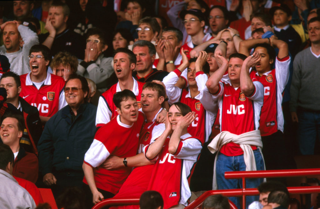 Arsenal V Aston Villa 1999