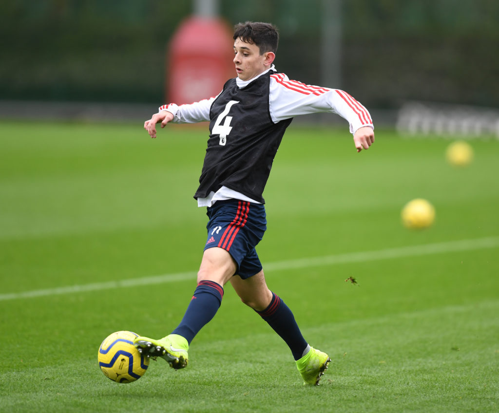 Arsenal fans have a new young gun to keep an eye on this season after last night's performance from one Charlie Patino.