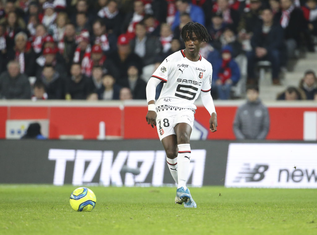 Reported Arsenal target Eduardo Camavinga could leave Stade Rennais in the final week of the transfer window.