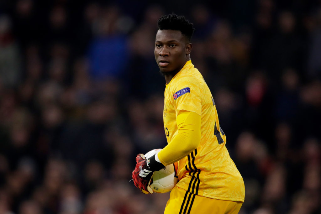 Some Arsenal fans react to what they're hearing now about Andre Onana