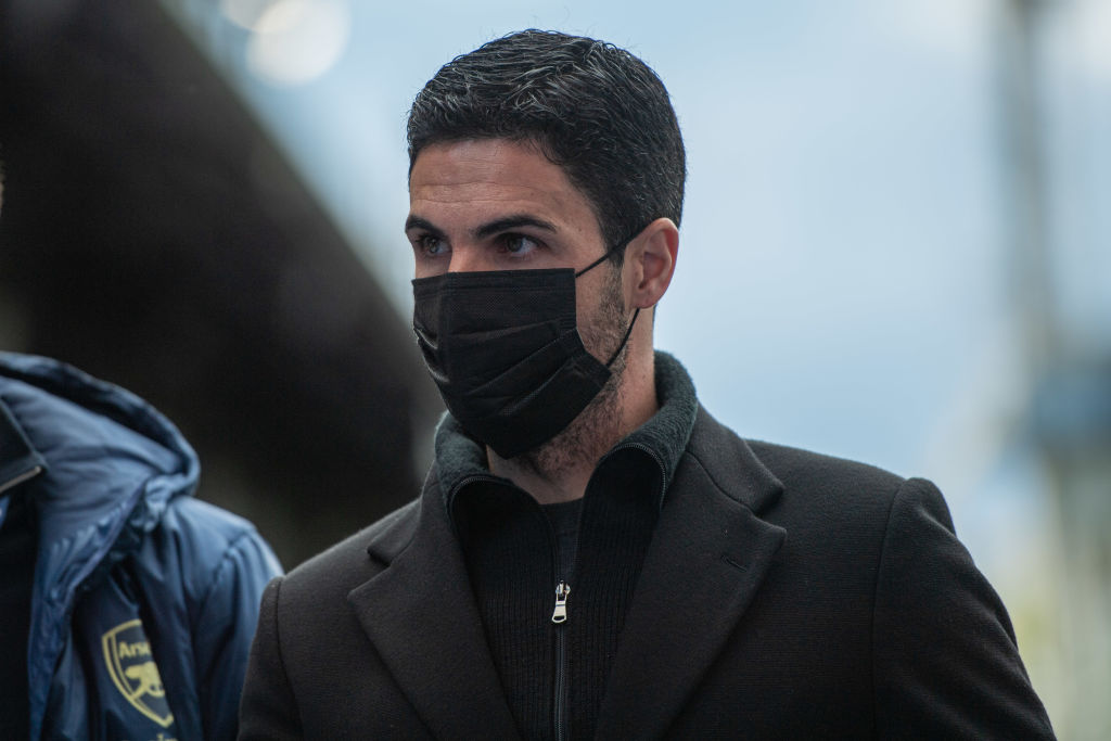 Mikel Arteta will have to change his summer transfer plans.