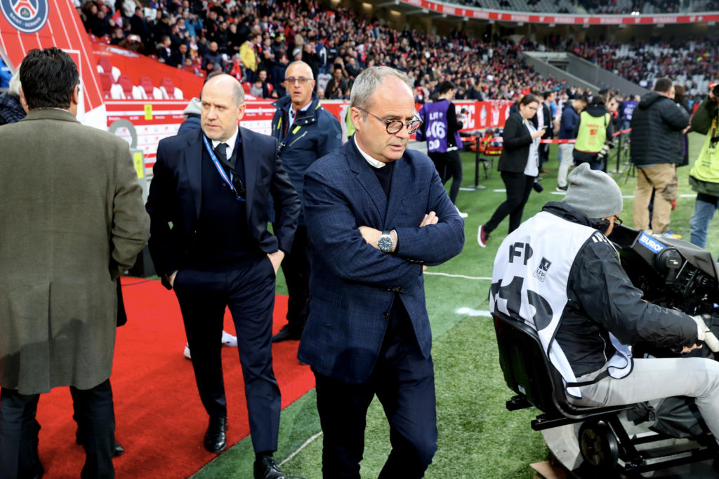 Luis Campos linked with  a job at Arsenal