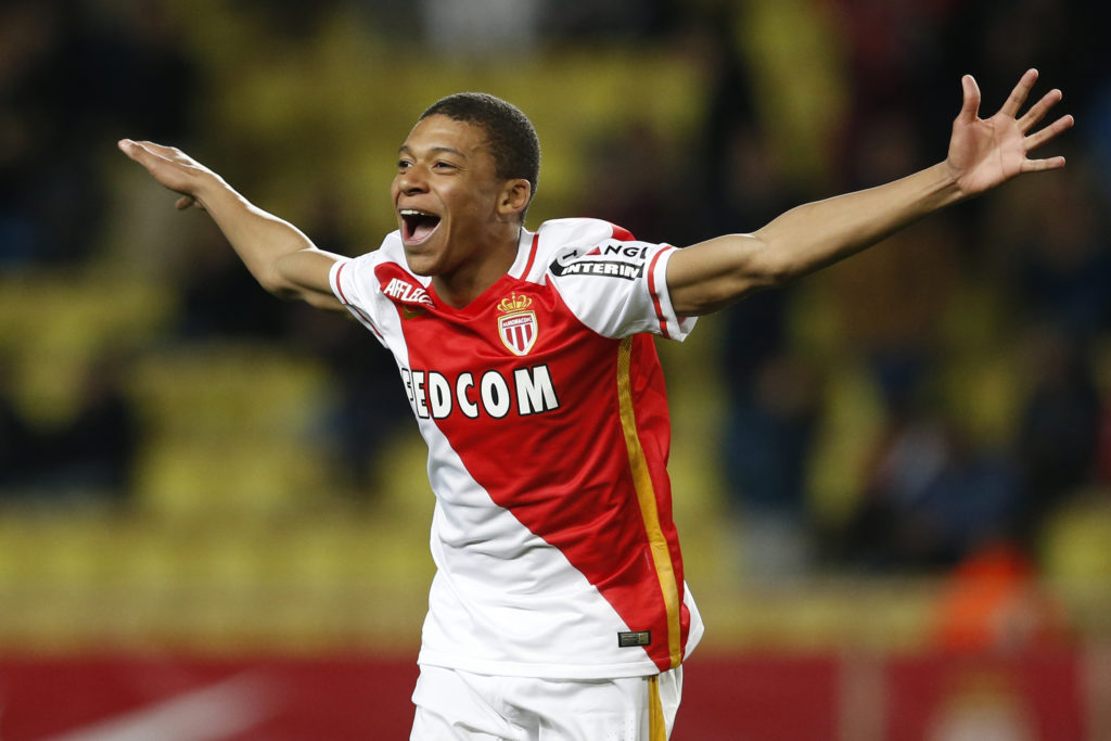 Kylian Mbappe at Monaco - a player unearthed by Arsenal-linked Luis Campos