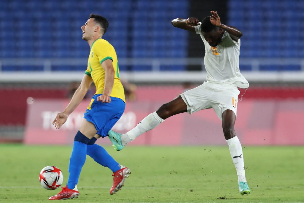 Some Arsenal fans are worried about what Gabriel Martinelli has been doing at the Olympics