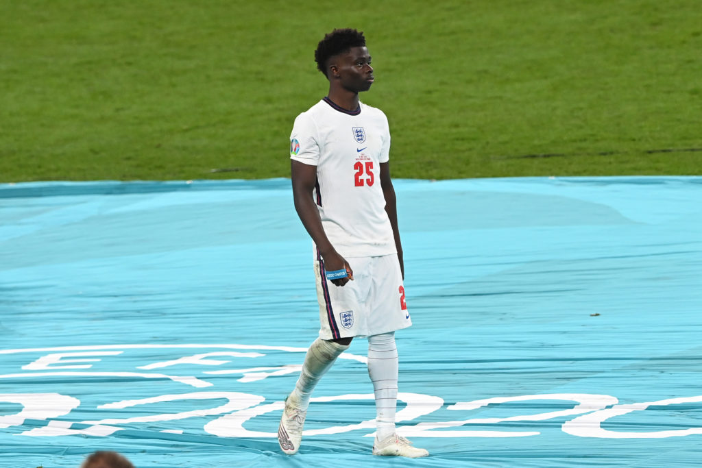 Mesut Ozil delivers verdict on Arsenal star Bukayo Saka after his Euro 2020 penalty miss