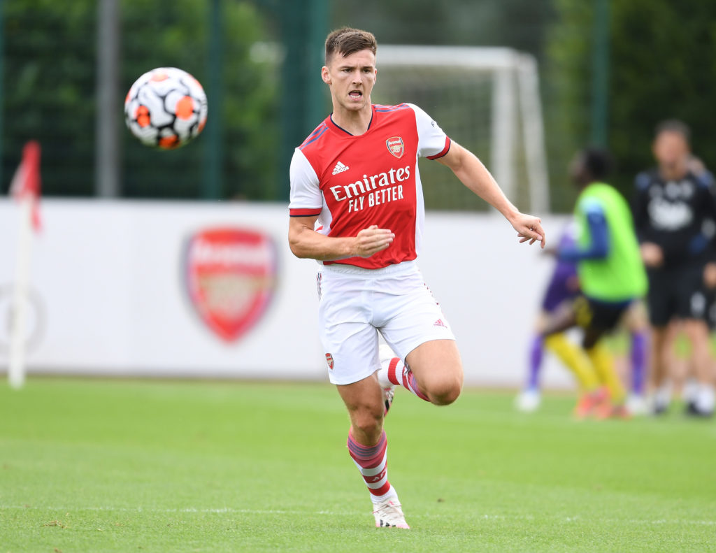 Arsenal star Kieran Tierney got into a fight with a Watford player in a pre-season friendly yesterday.