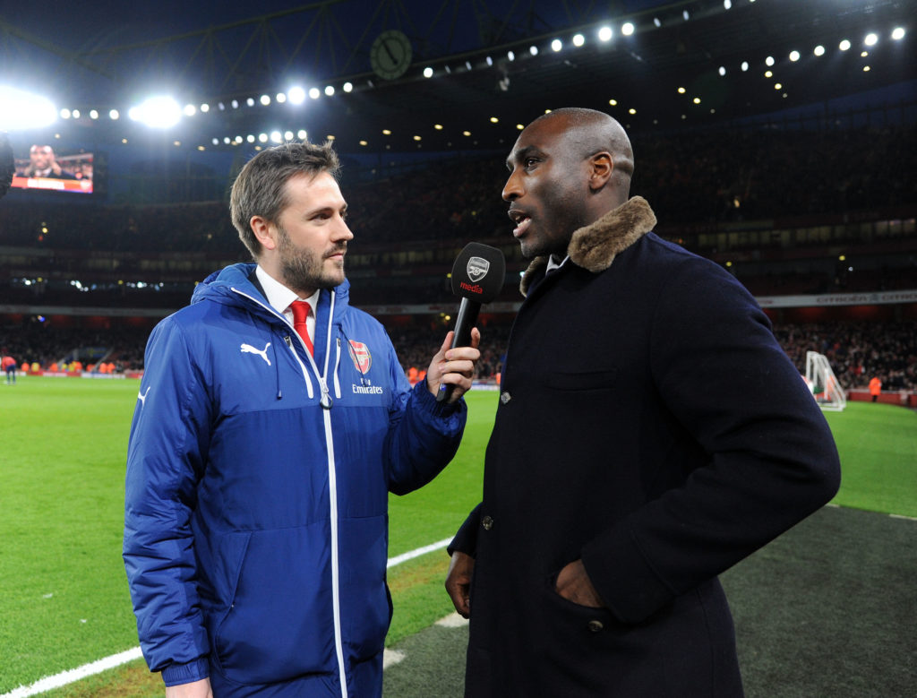 Sol Campbell open to a job as Arsenal coach to help solve defensive issues