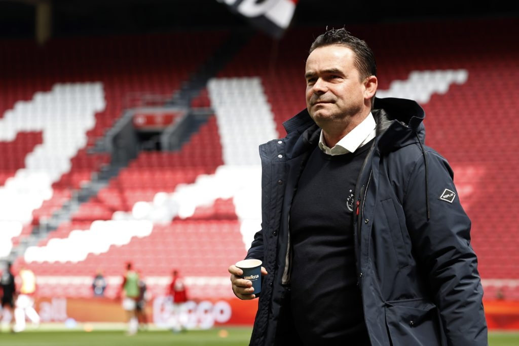 Marc Overmars comments on his future amid Arsenal links