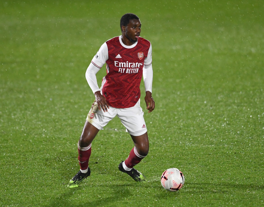 Arsenal youngster Jonathan Dinzeyi says he learnt 'so much' from two ex-Tottenham stars