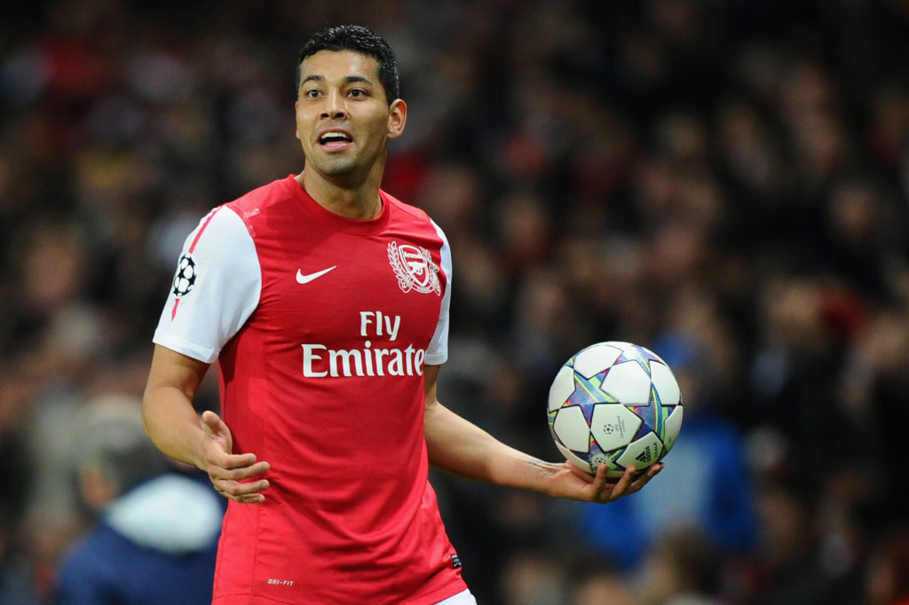Former Arsenal defender Andre Santos shares a story of his fight with Wenger